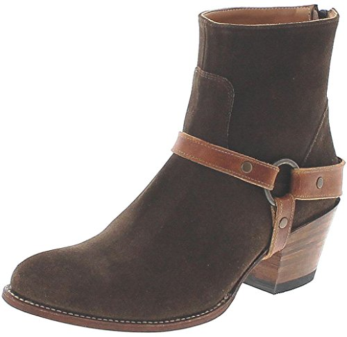 Santiags femme  basses marron FB Fashion Boots épurées