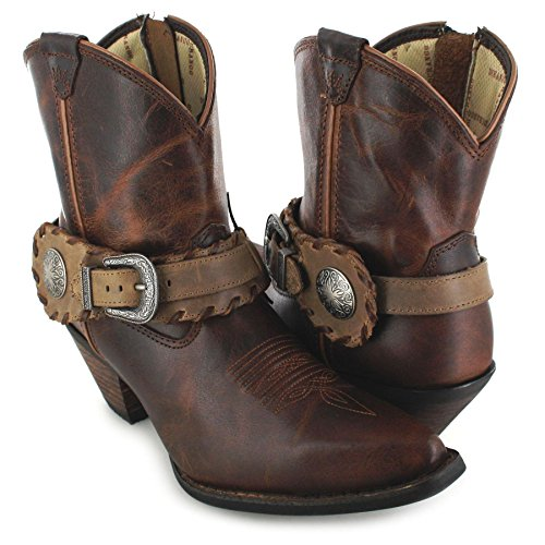 Santiags femme mi basses marron FB Fashion Boots